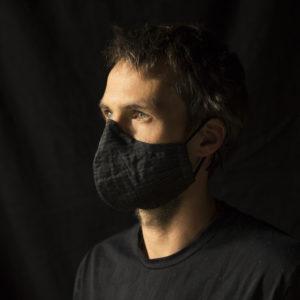Maske grob gemustert von Jay Barry Matthews im Hausgemachtes Shop