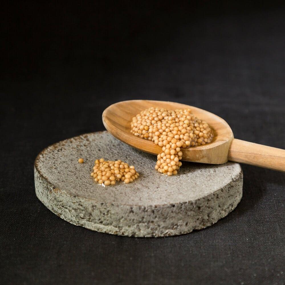 Eingelegte Senfsaat vom Bingenheimer Saatgut