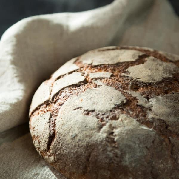 Hausgemachtes Brot Roggen Sauerteig von Nobelhart und Schmutzig