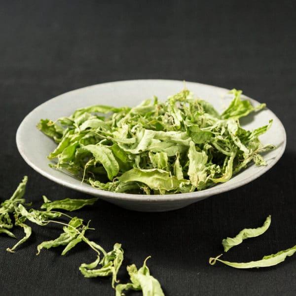Eisenkraut Teeblätter