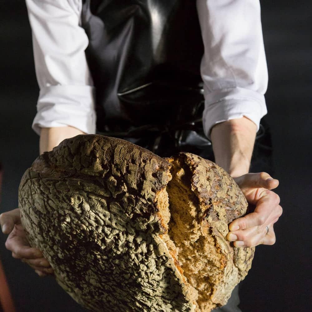 pic 2 of 7 Unboxing Frank Leder shirt in a bread loaf