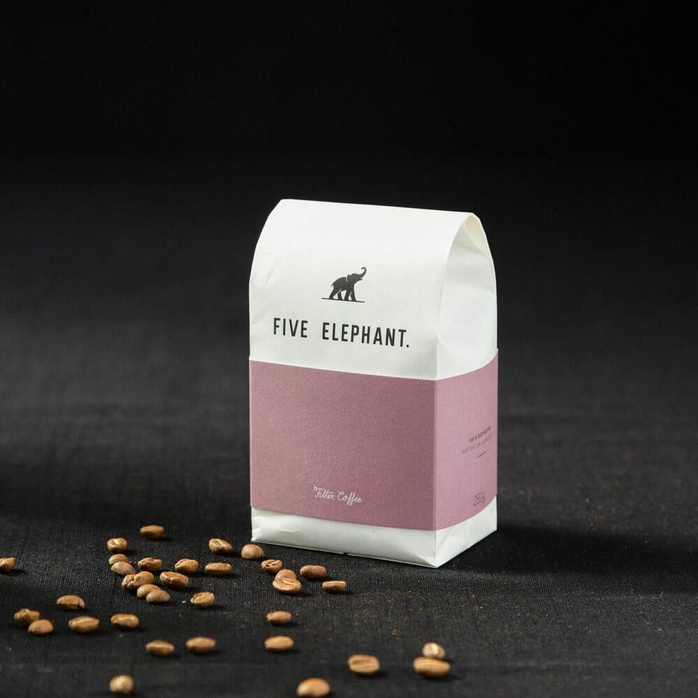 Kaffee von Five Elephant
