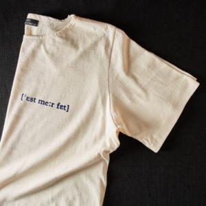 ['est me:r fet] T-Shirt von Frank Leder im Hausgemachtes Online Shop