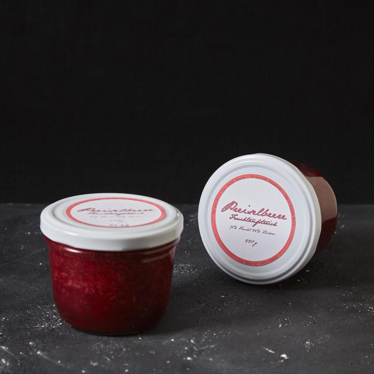 Preiselbeer Fruchtaufstrich von Peter Kunze im Hausgemachtes Shop