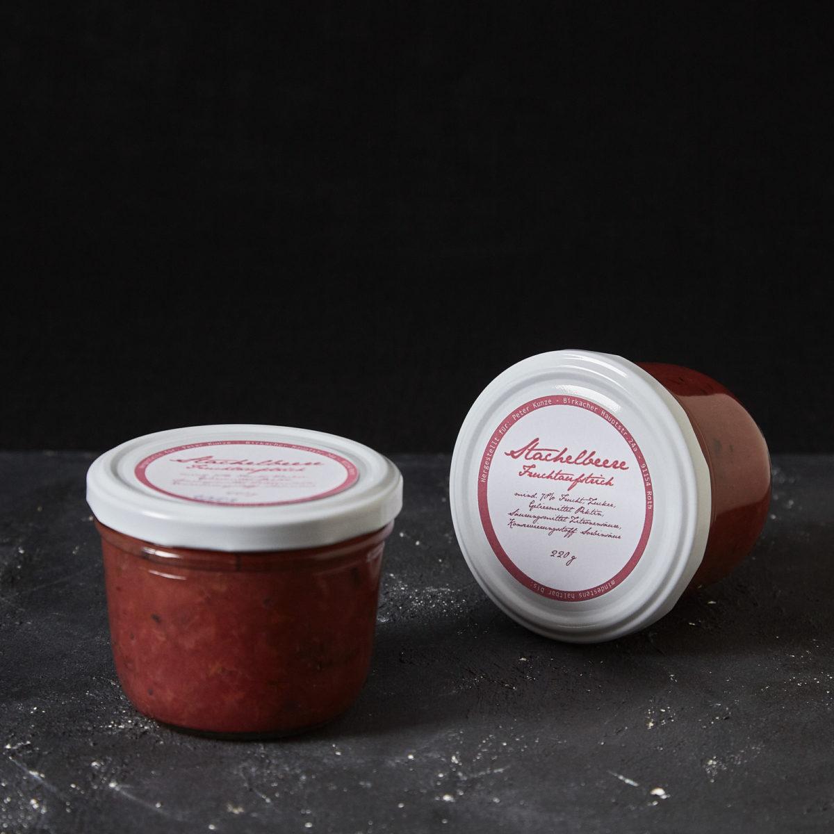 Stachelbeer Fruchtaufstrich von Peter Kunze im Hausgemachtes Online Shop