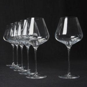 6x Burgunder Gläser von Quatrophil im Hausgemachtes Online Shop