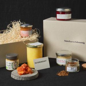 Die Gemeinschaft als Geschenkbox inkl Spende im Nobelhart und Schmutzig Online Shop